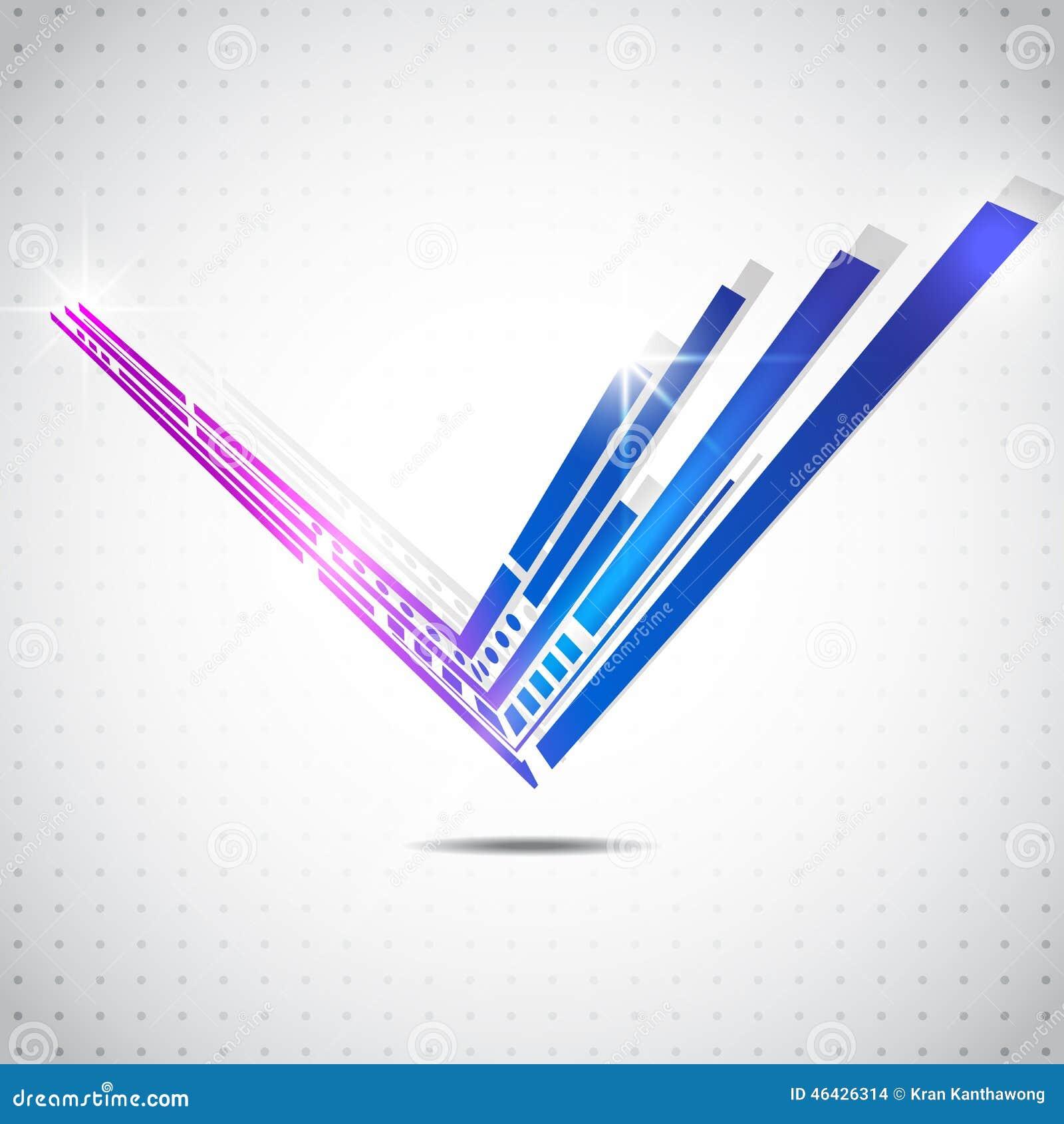 La technologie abstraite raye le fond de vecteur, illustration de vecteur