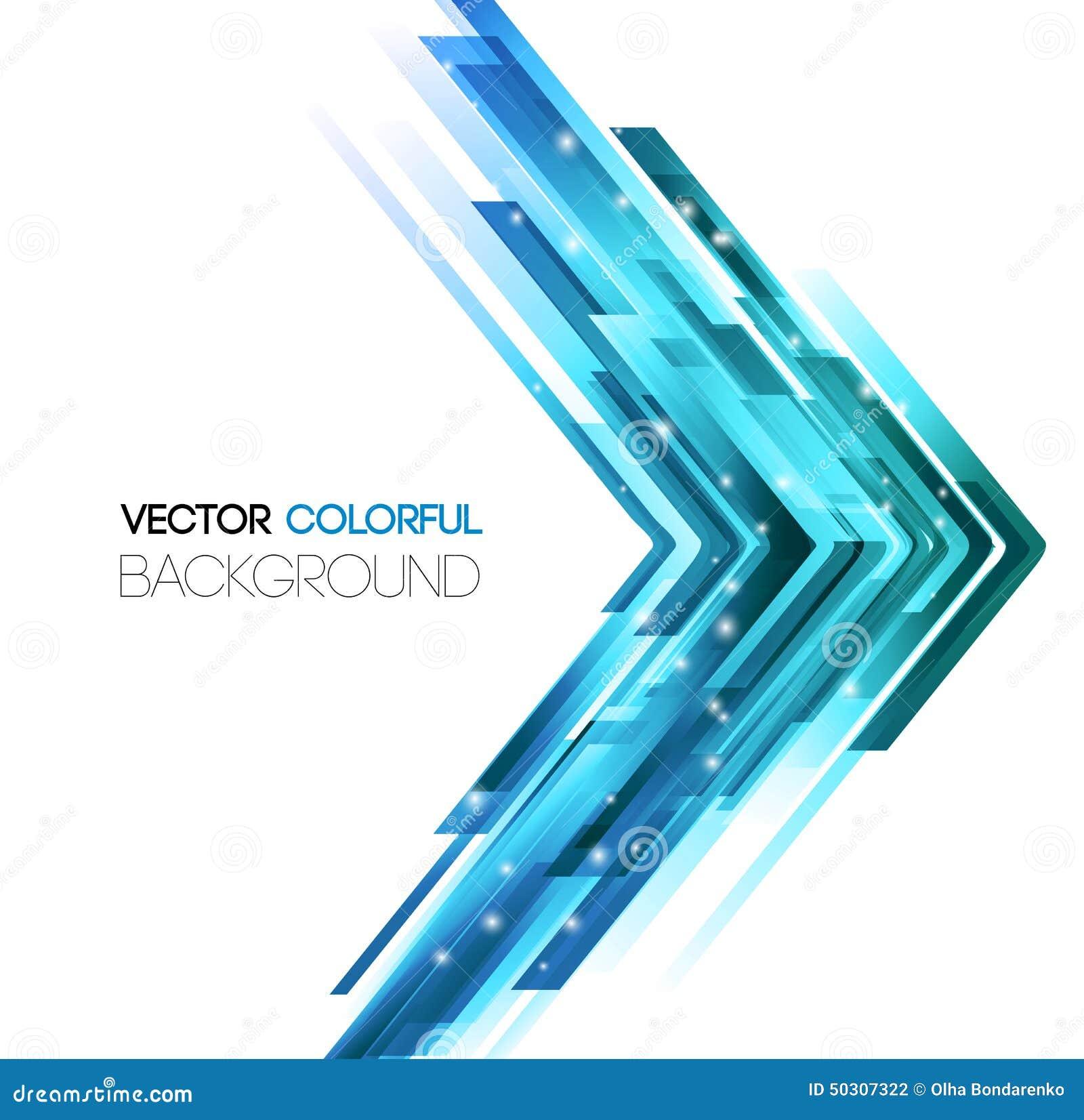La tecnología abstracta alinea el fondo del vector