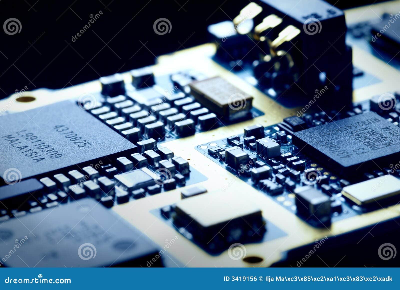La tecnología de la electrónica