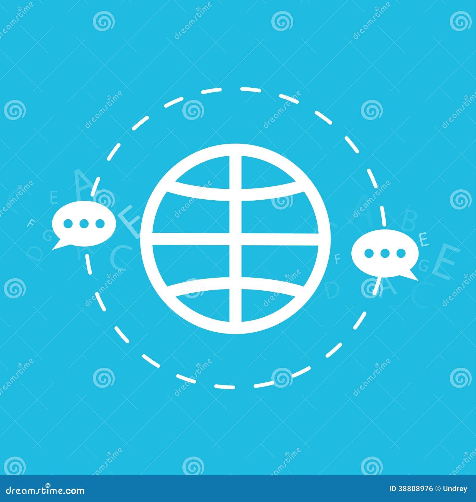 La tecnología global de la conexión y de la navegación, envía el correo electrónico, mensaje, ejemplo aislado concepto