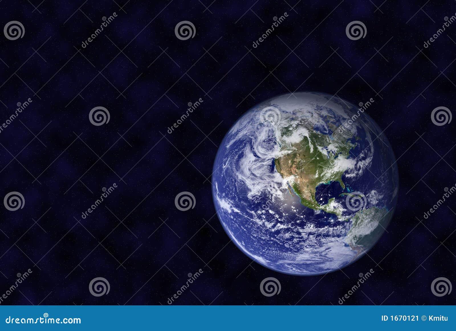 La terre dans l espace