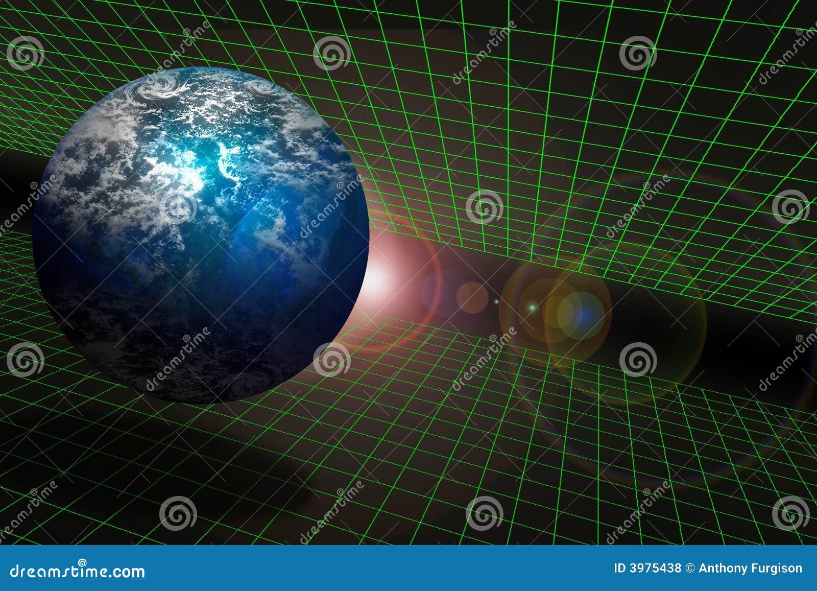 La terre et l espace sur un réseau
