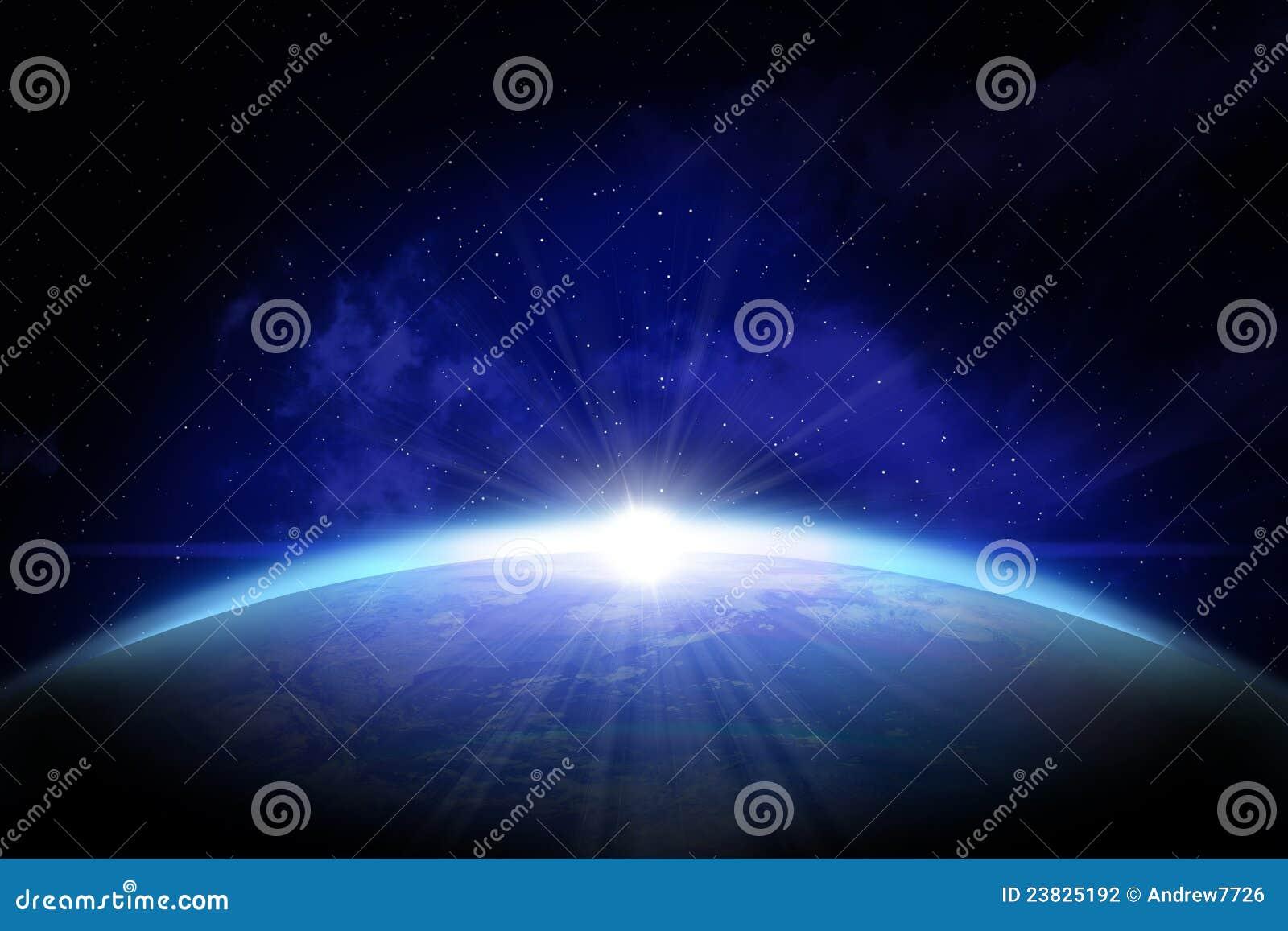 La terre vue de l espace