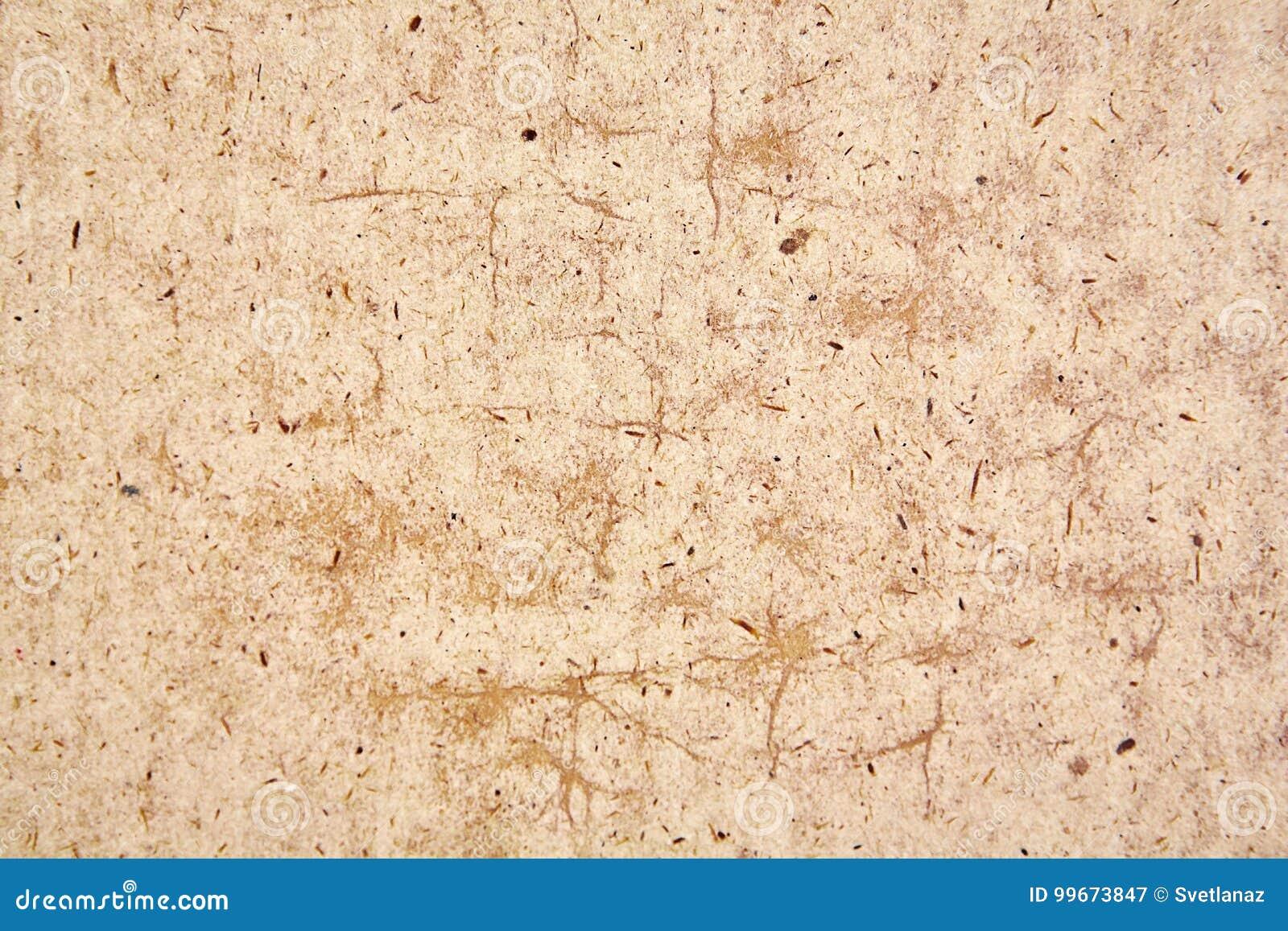 La Textura Del Papel De Kraft Imagen De Archivo