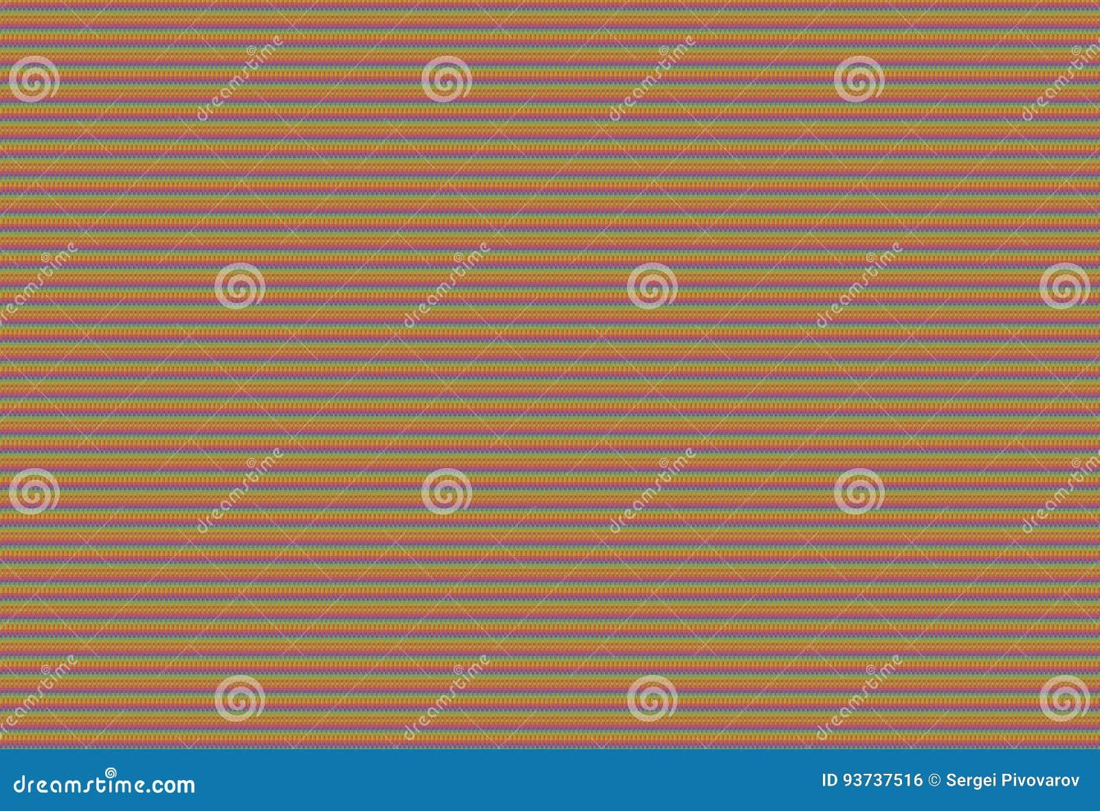 La textura hizo punto la lona colorida serie infinita arco iris-coloreada los pequeños cuadrados