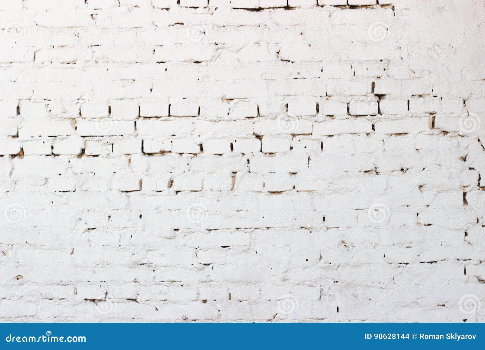 la textura resistida extracto manch el estuco viejo gris claro y envejeci el ladrillo del blanco