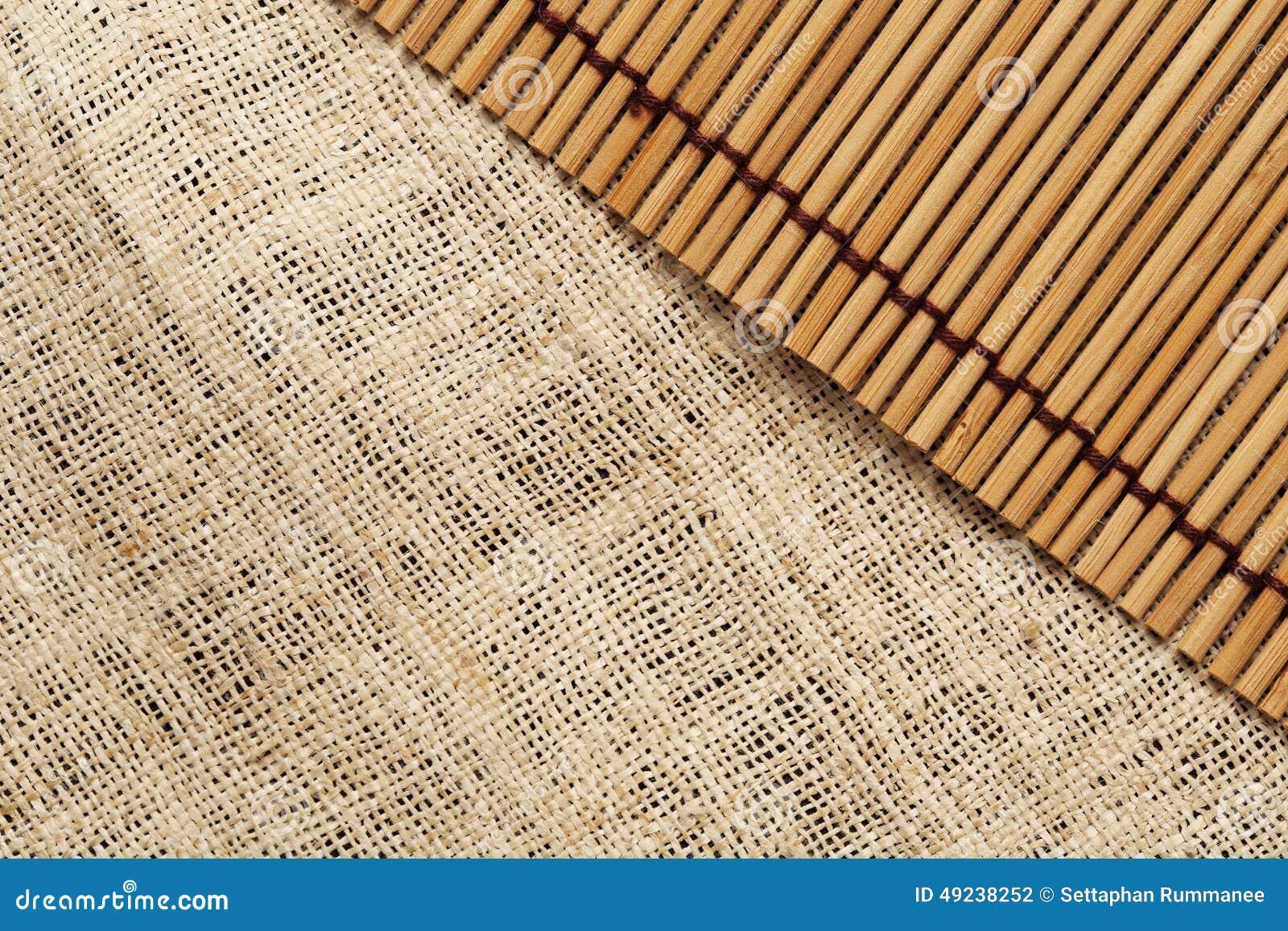 La Textura Y El Modelo De La Lona Y Del Fondo Japonés De La Estera ...