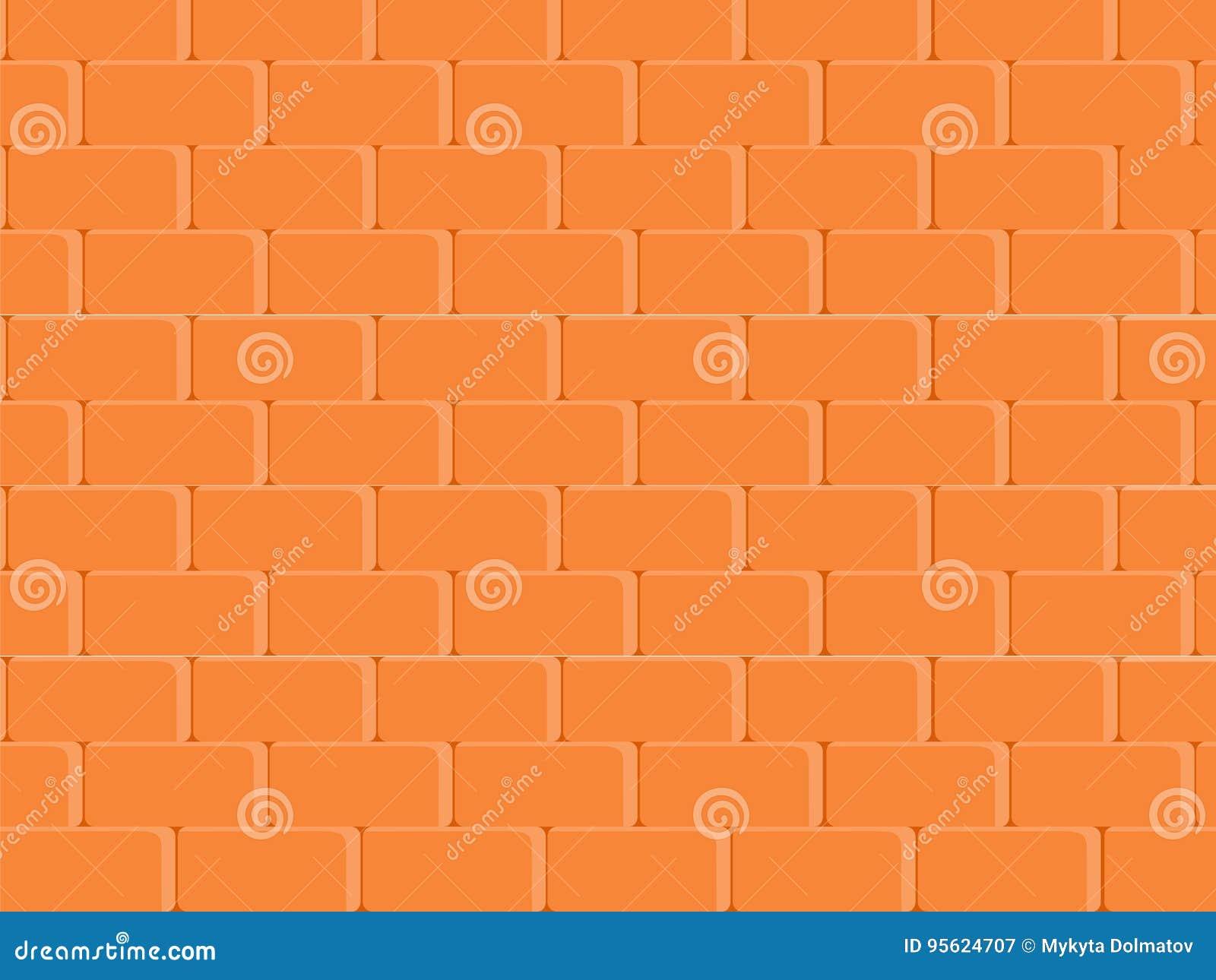 La Texture Abstraite A Souillé Le Fond Rouge-clair De Mur De Briques ...