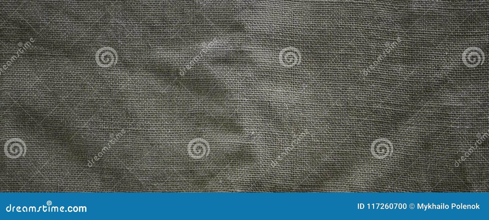 La texture d un tissu de sac brun très vieux Rétro texture avec le matériel de toile Fond d image avec l espace de copie