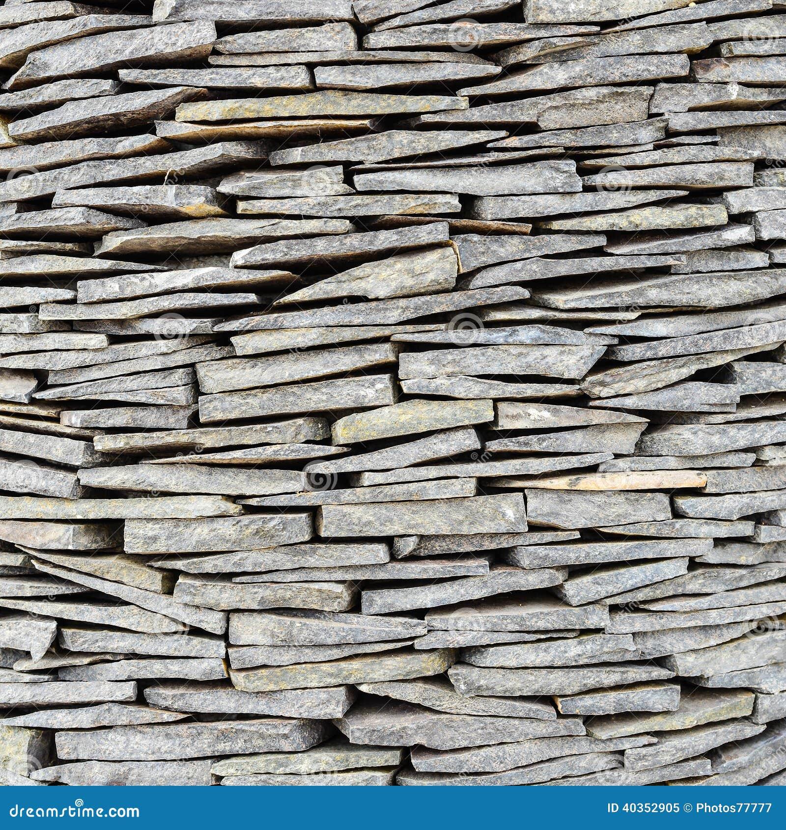la texture du mur en pierre d 39 ardoise image stock image. Black Bedroom Furniture Sets. Home Design Ideas