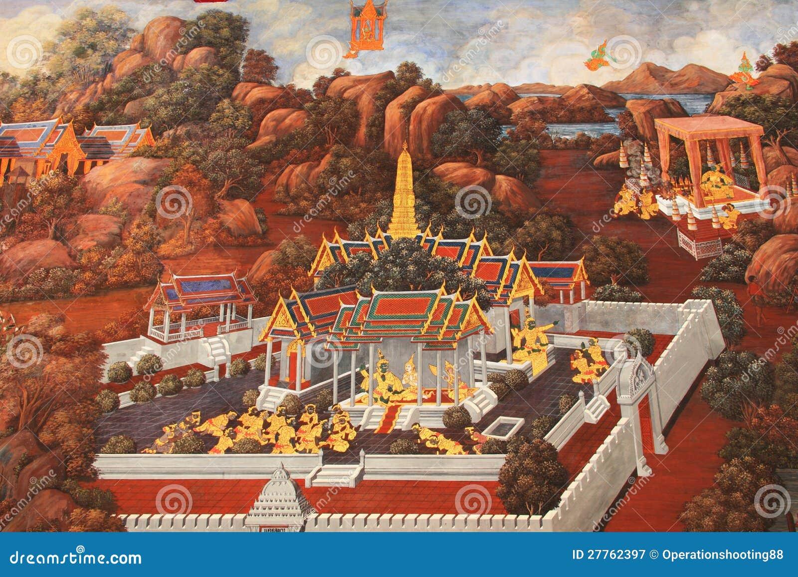 La Thaïlande murale