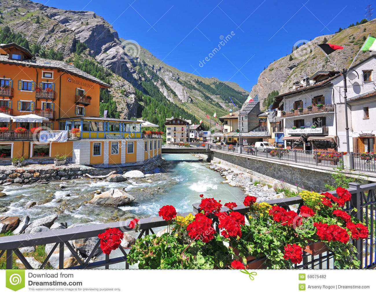 La Thuile Italy editorial photography Image of alpine 59075482
