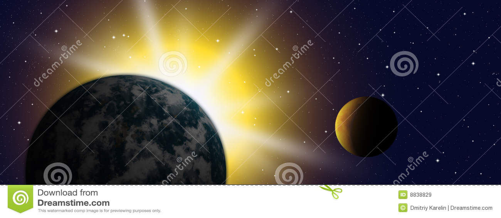 La tierra del planeta