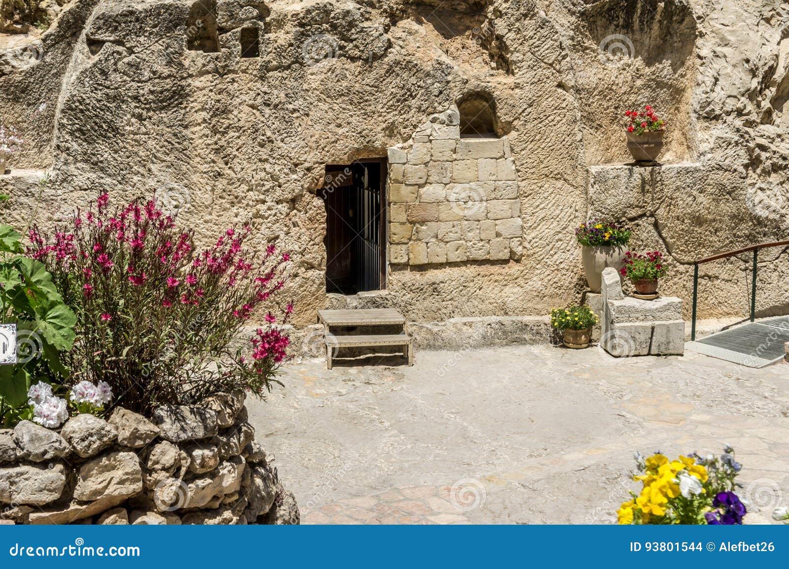 La tomba del giardino a Gerusalemme, Israele
