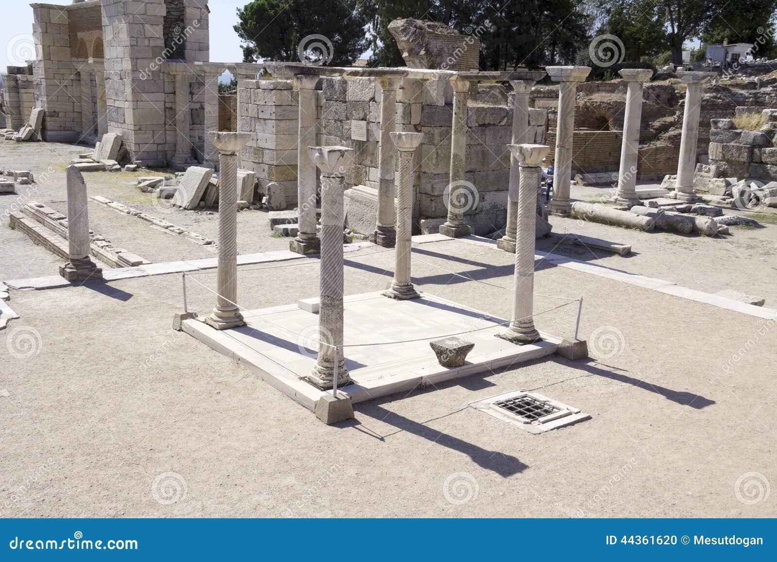 La tomba di St John