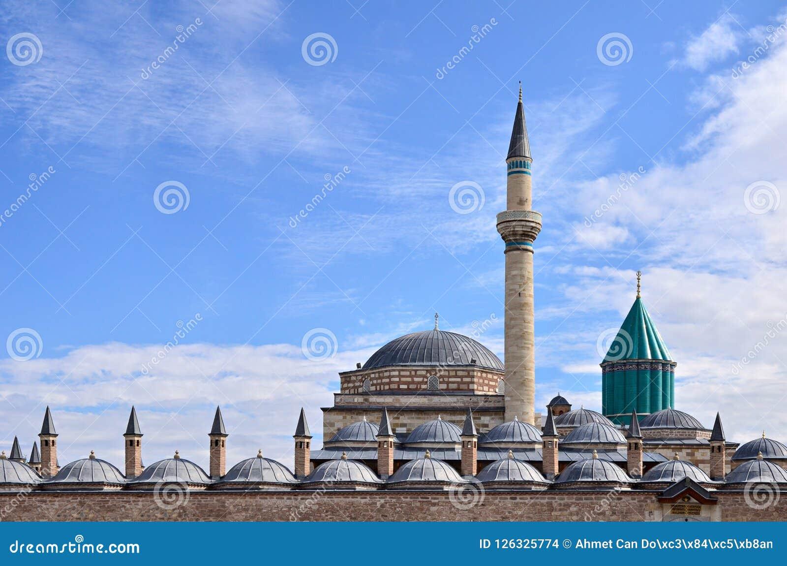 La tomba famosa del ` s di Sufi Mevlana