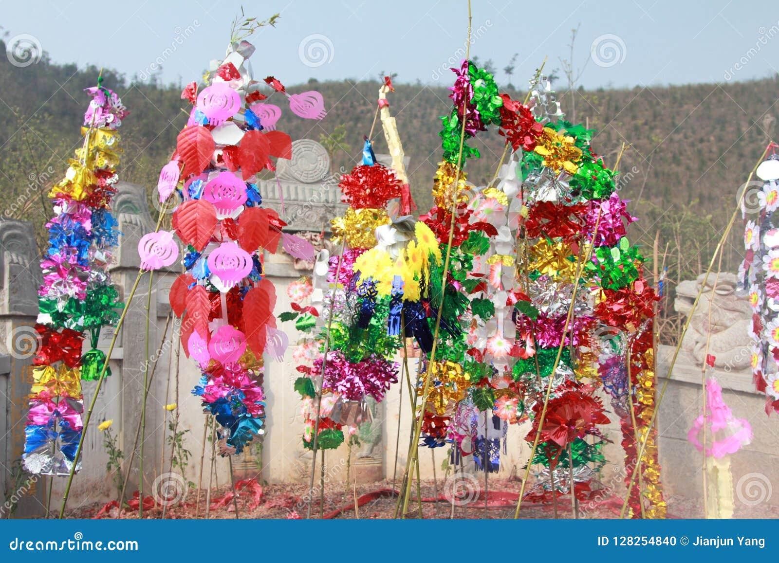 La tombe dans la campagne chinoise
