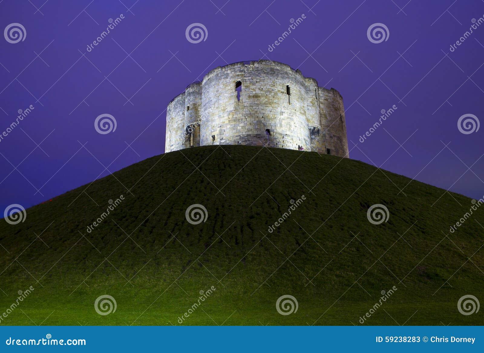 Download La Torre De Clifford En York Imagen de archivo - Imagen de atracciones, exterior: 59238283