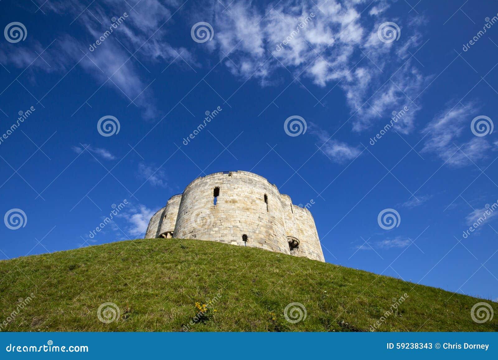 Download La Torre De Clifford En York Imagen de archivo - Imagen de exterior, señales: 59238343