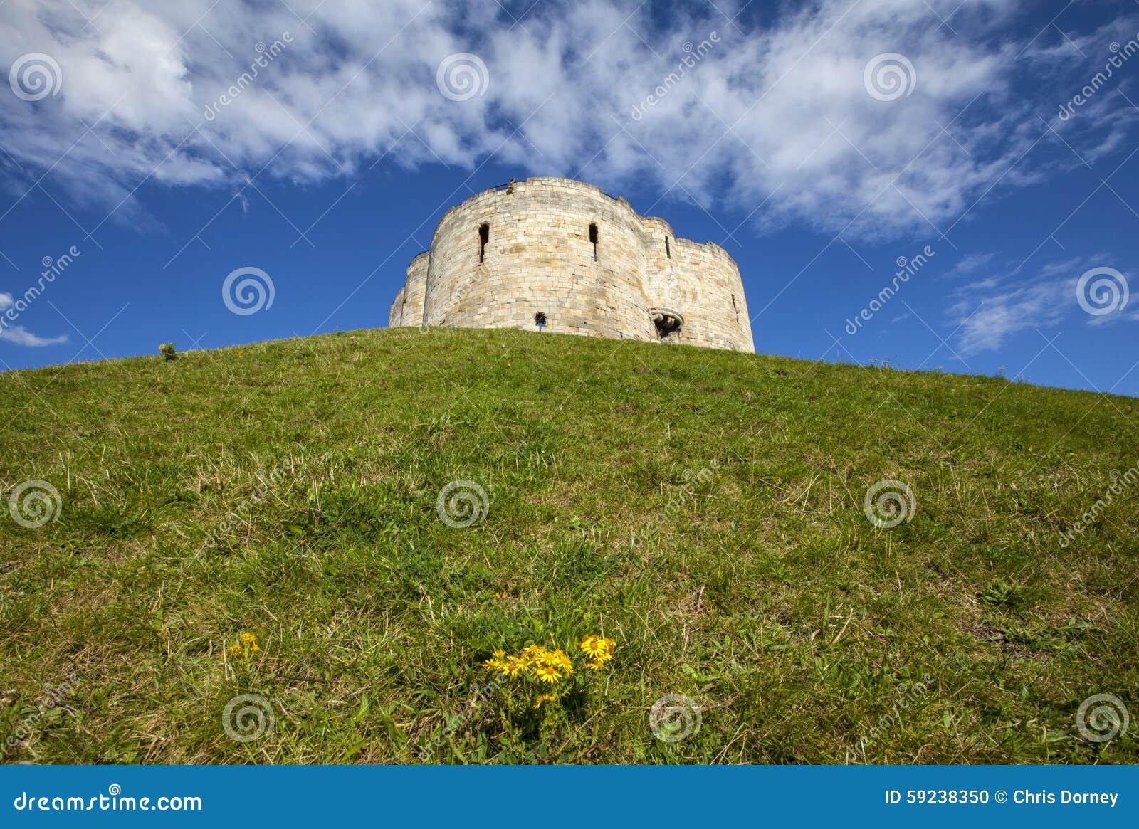 Download La Torre De Clifford En York Foto de archivo - Imagen de historia, inglés: 59238350