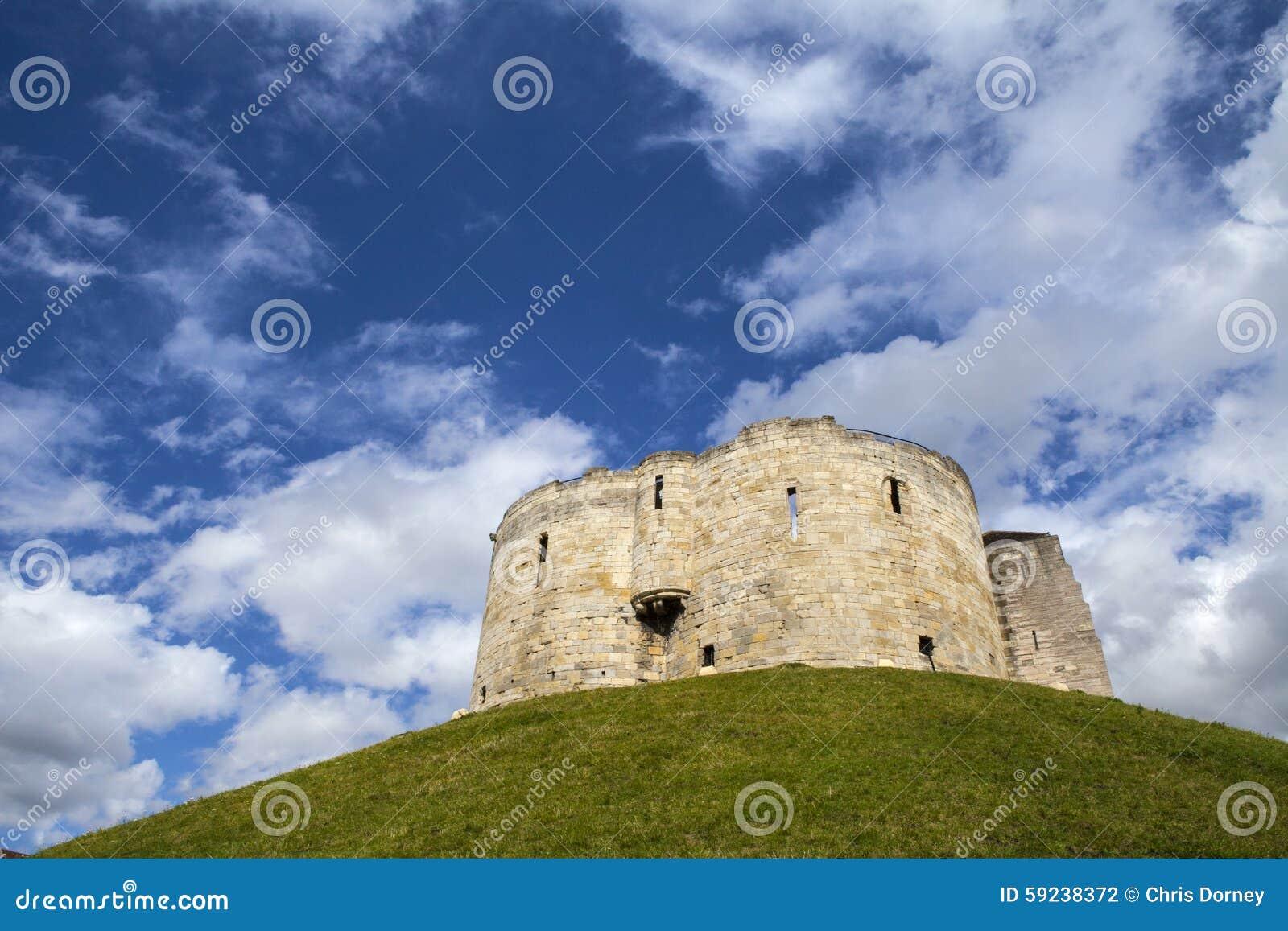 Download La Torre De Clifford En York Foto de archivo - Imagen de mantiene, edificio: 59238372