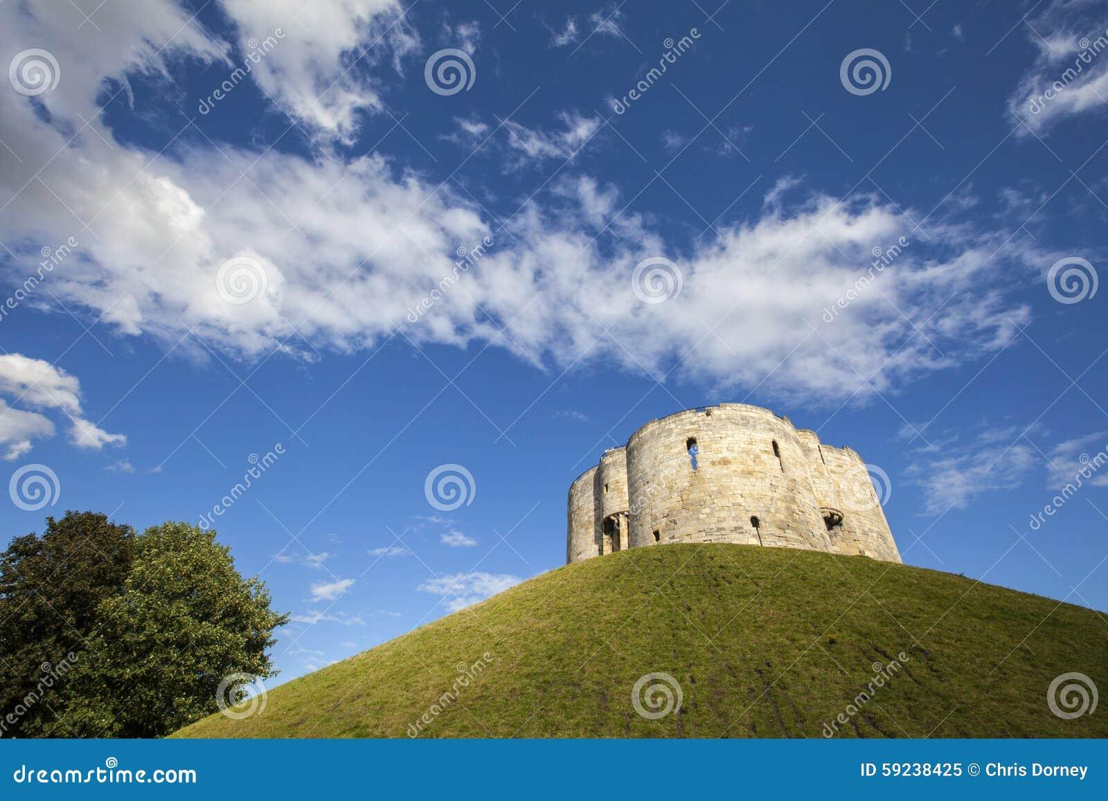 Download La Torre De Clifford En York Imagen de archivo - Imagen de atracciones, historia: 59238425