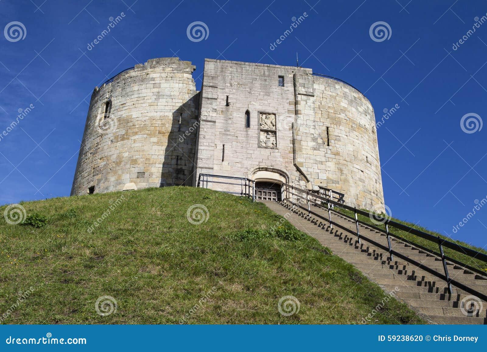 Download La Torre De Clifford En York Foto de archivo - Imagen de europeo, castillo: 59238620