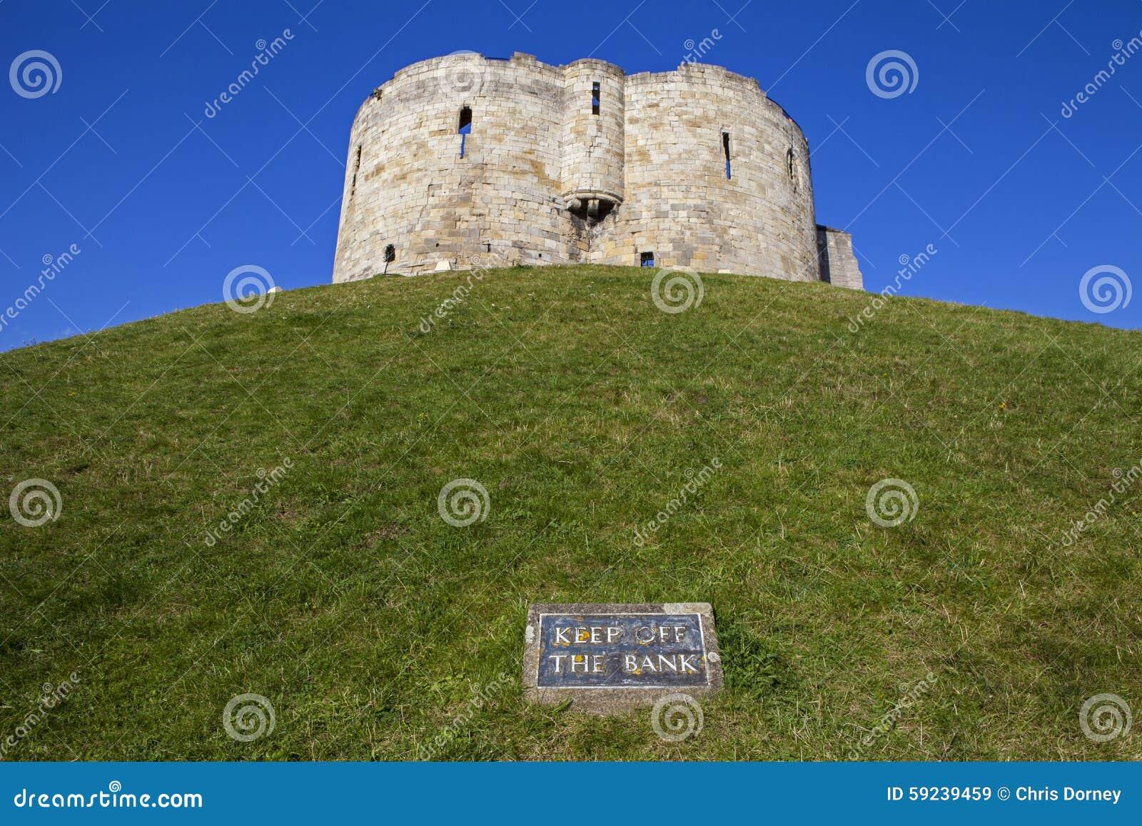 La torre de Clifford en York