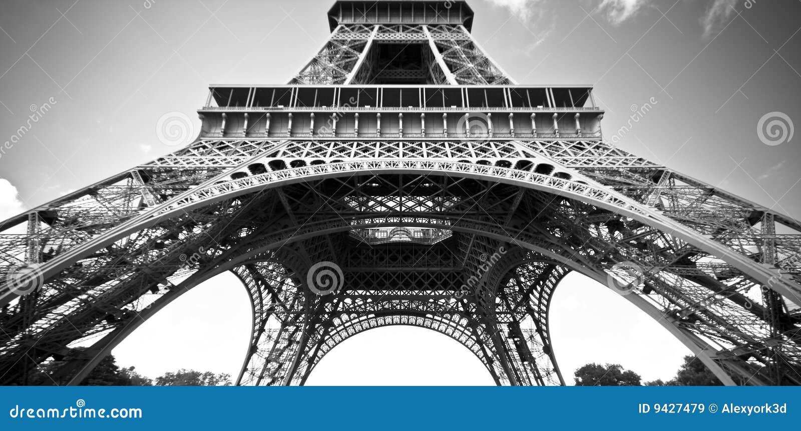 La torre Eiffel, París, durante el día
