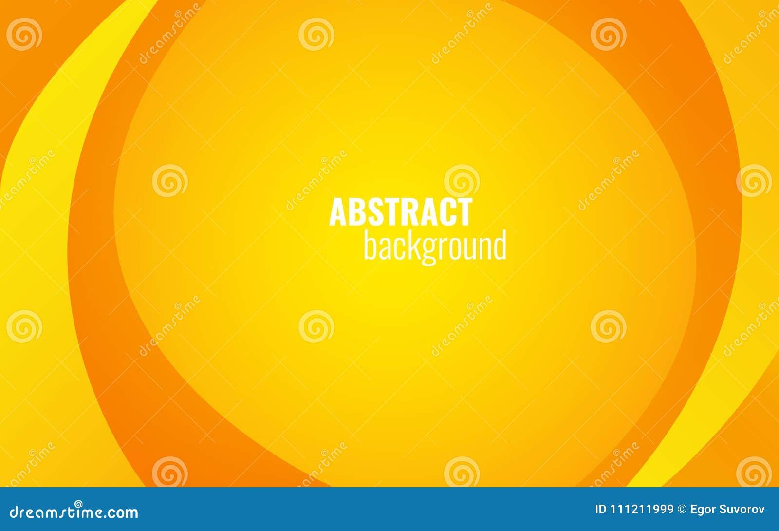 La torsión amarilla alinea el fondo Diseño moderno de la plantilla para el sitio web, folleto, tarjeta Elementos ligeros en el co