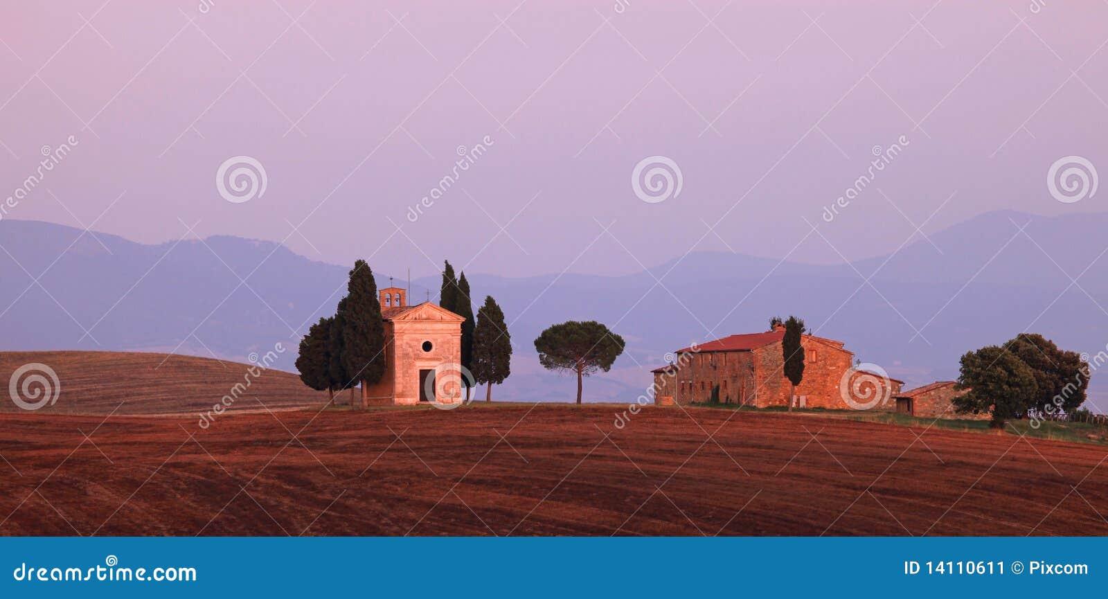 La Toscane - chapelle