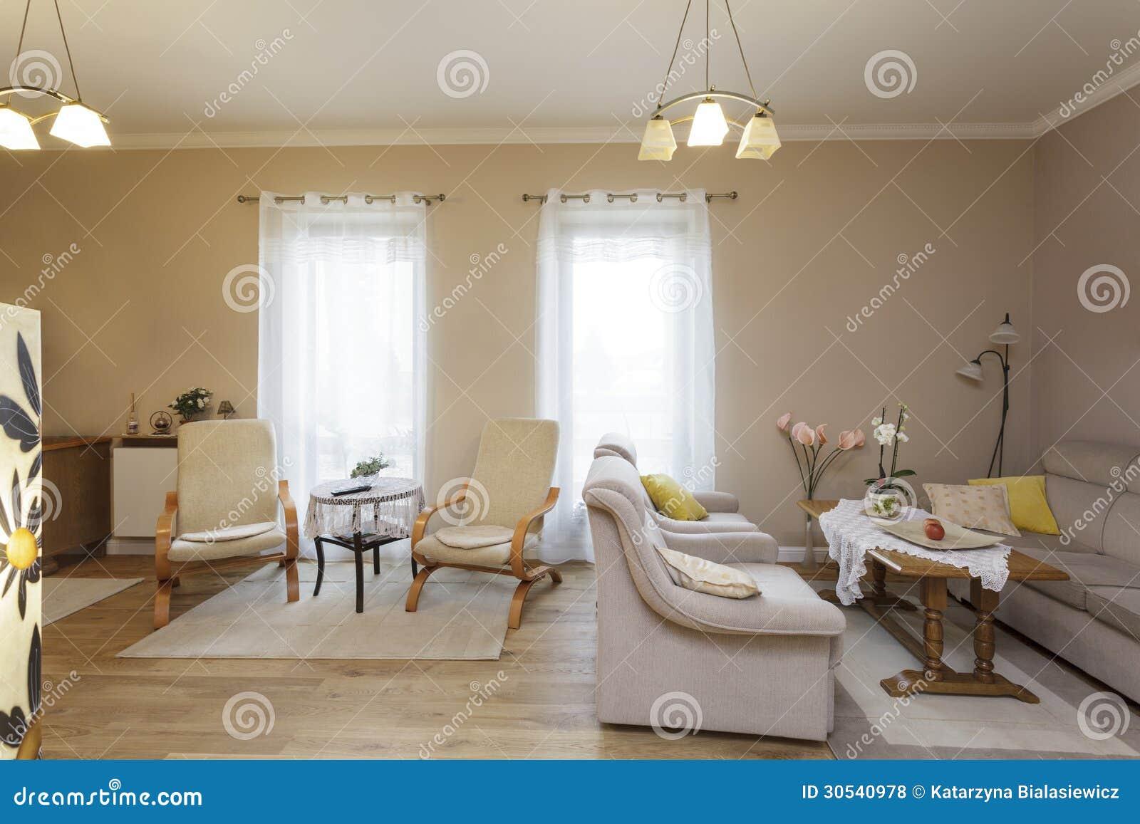 La Toscane Salon Classique Photo Stock Image Du Contemporain
