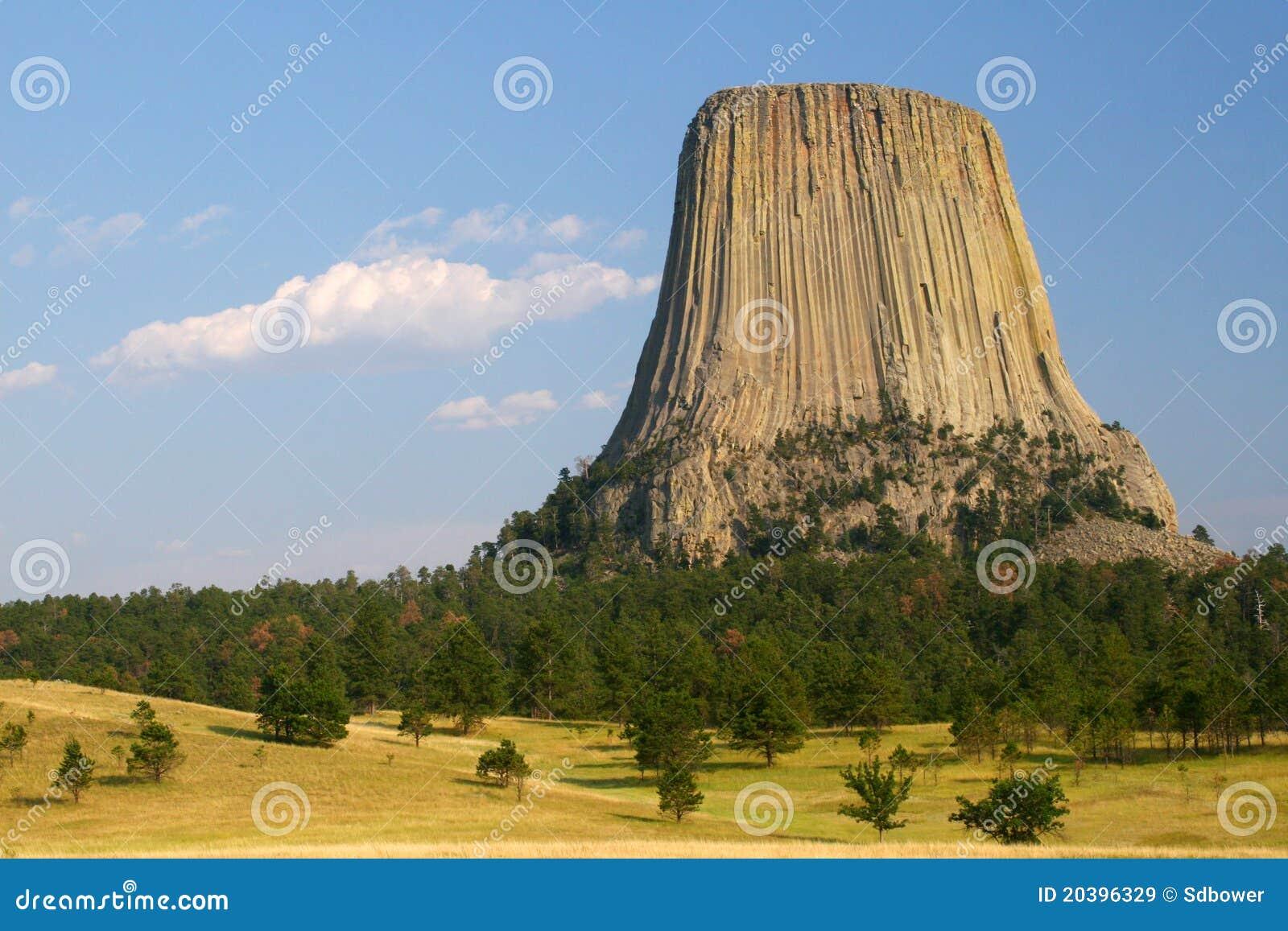 La tour du diable wyoming image stock image du diable 20396329 - La hotte du diable ...