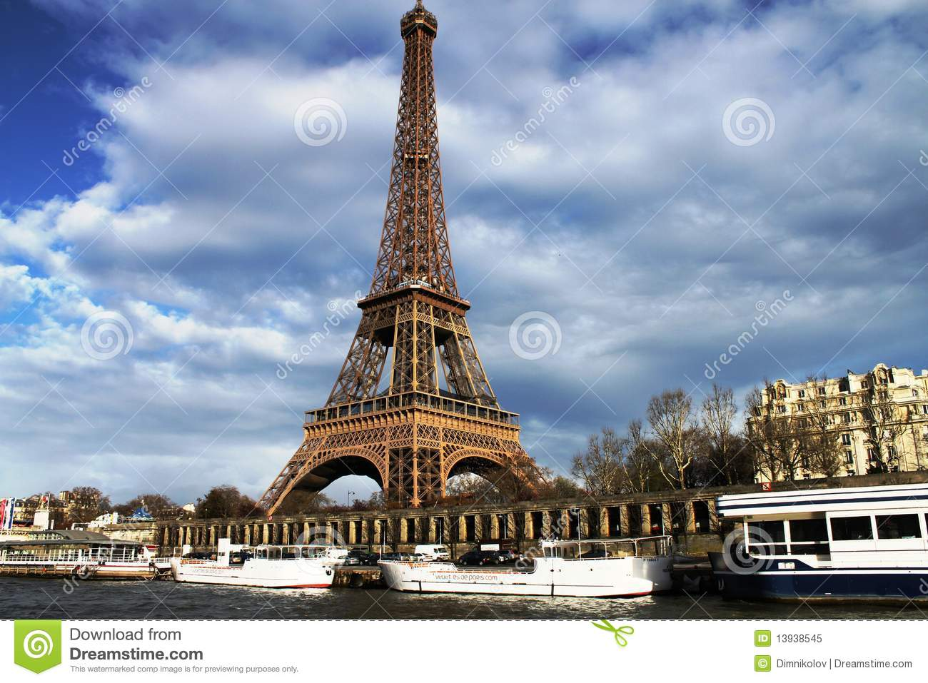 la tour eiffel the eiffel tower stock image image of tower tourist 13938545. Black Bedroom Furniture Sets. Home Design Ideas