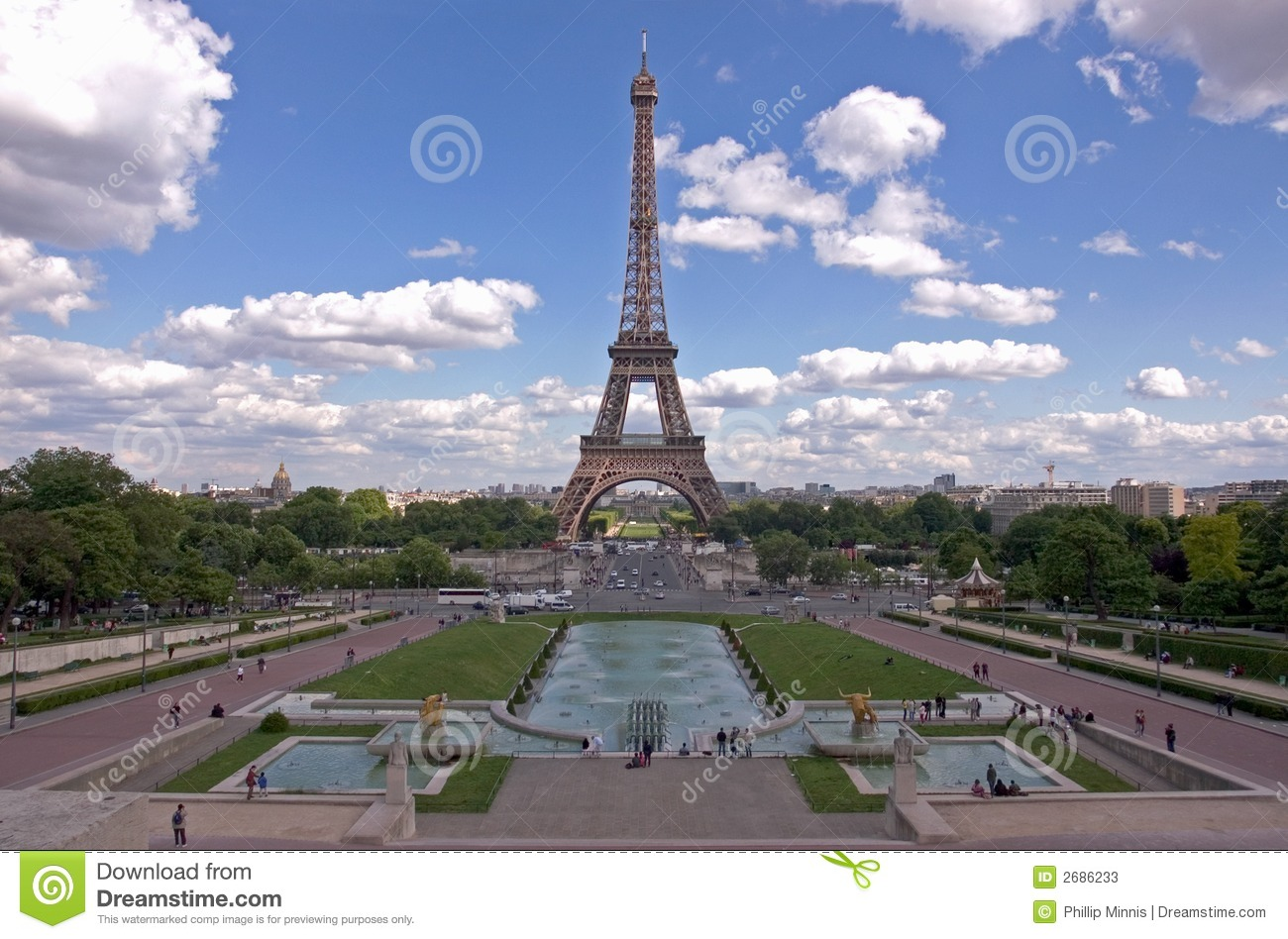 la tour eiffel paris stock photos image 2686233. Black Bedroom Furniture Sets. Home Design Ideas