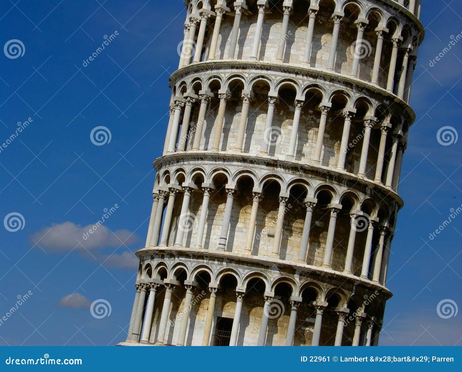 La tour penchée de Pise