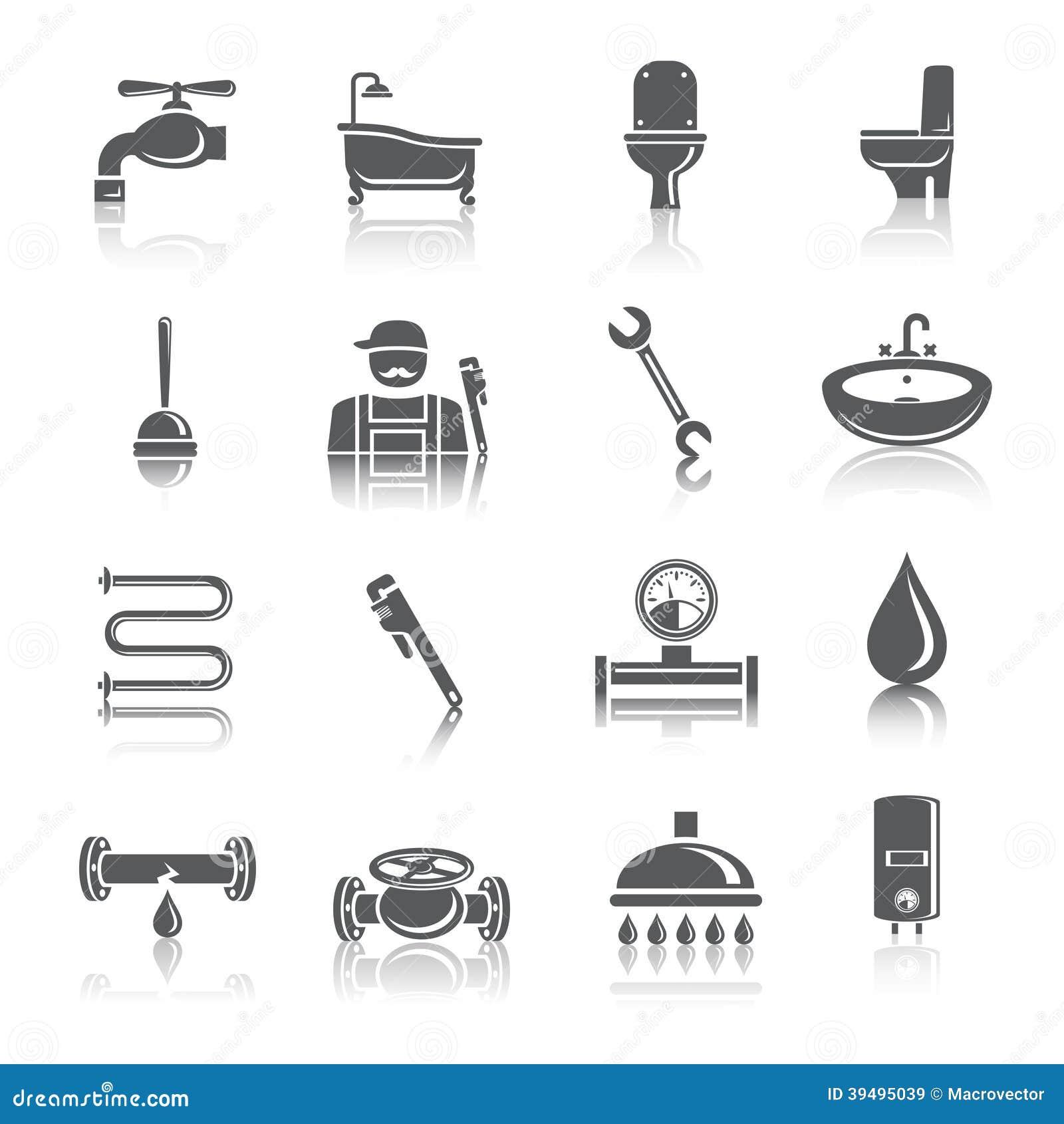 La tuyauterie usine des ic nes de pictogrammes for Tuyauterie salle de bain
