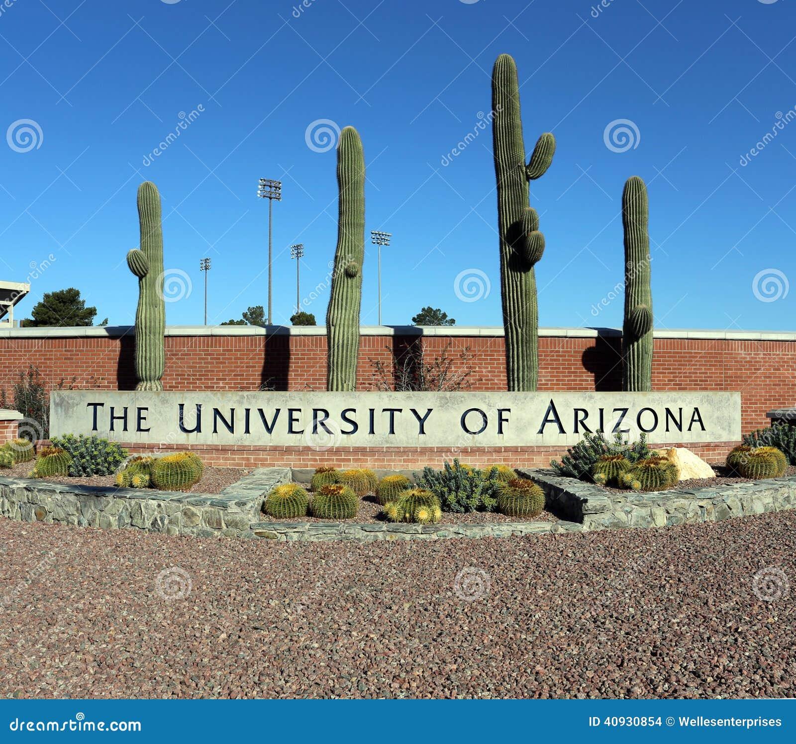 La Universidad De Arizona Imagen De Archivo Editorial