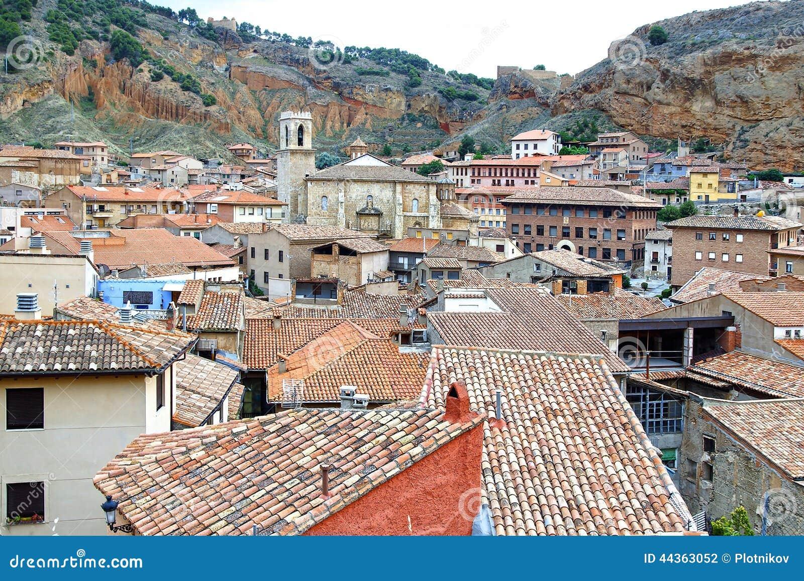 La vecchia città Daroca spain