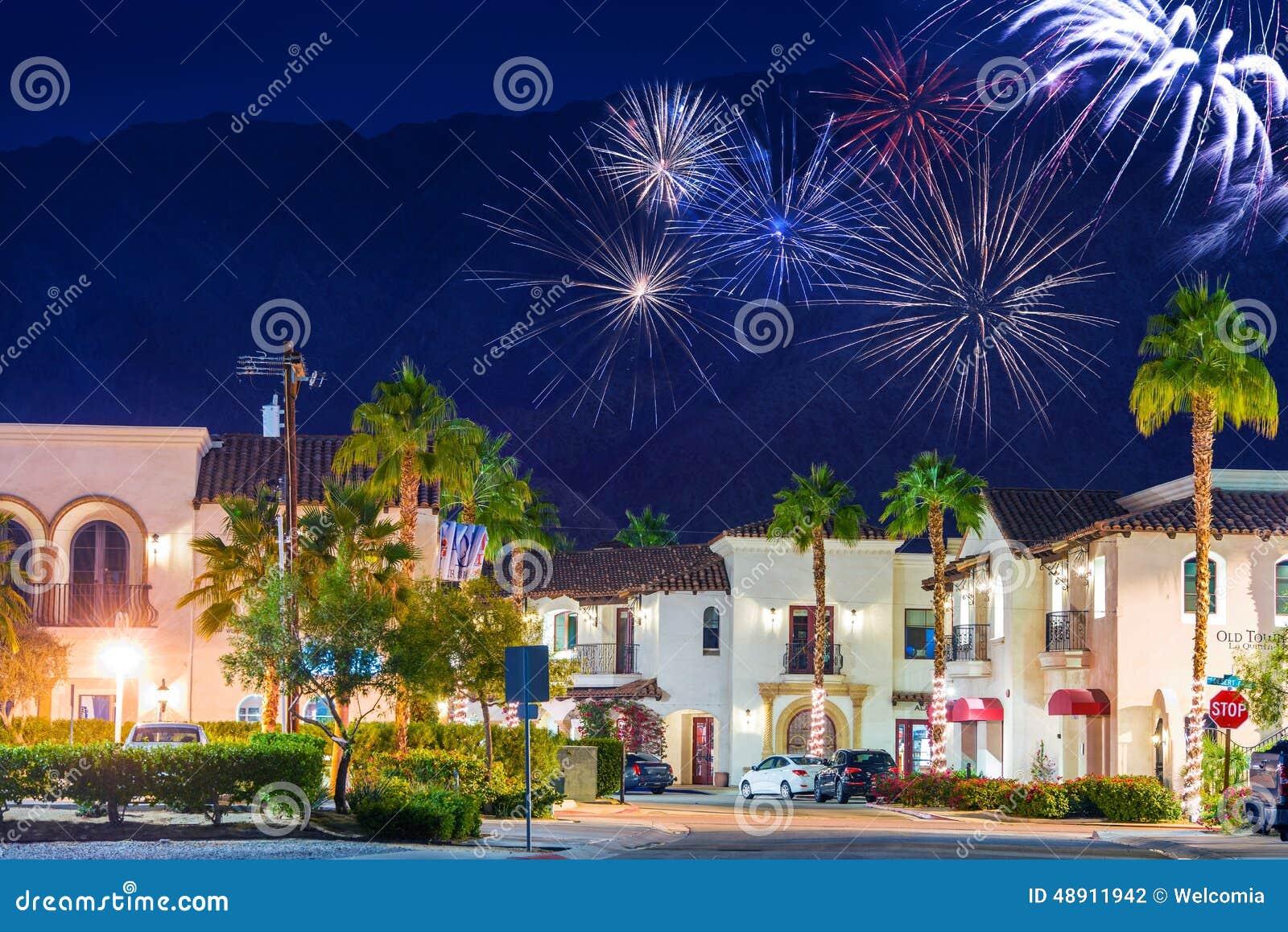 La velho Quinta Fireworks da cidade