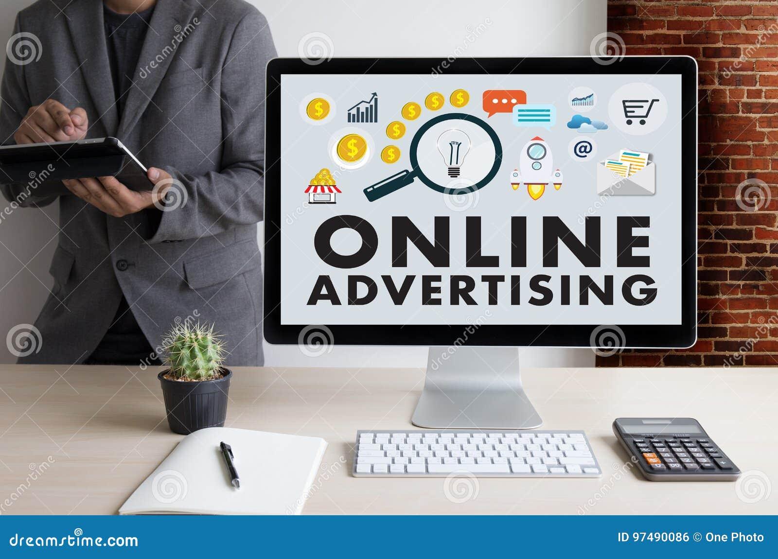 La vendita del sito Web di PUBBLICITÀ ON LINE, aggiornamento tende la pubblicità