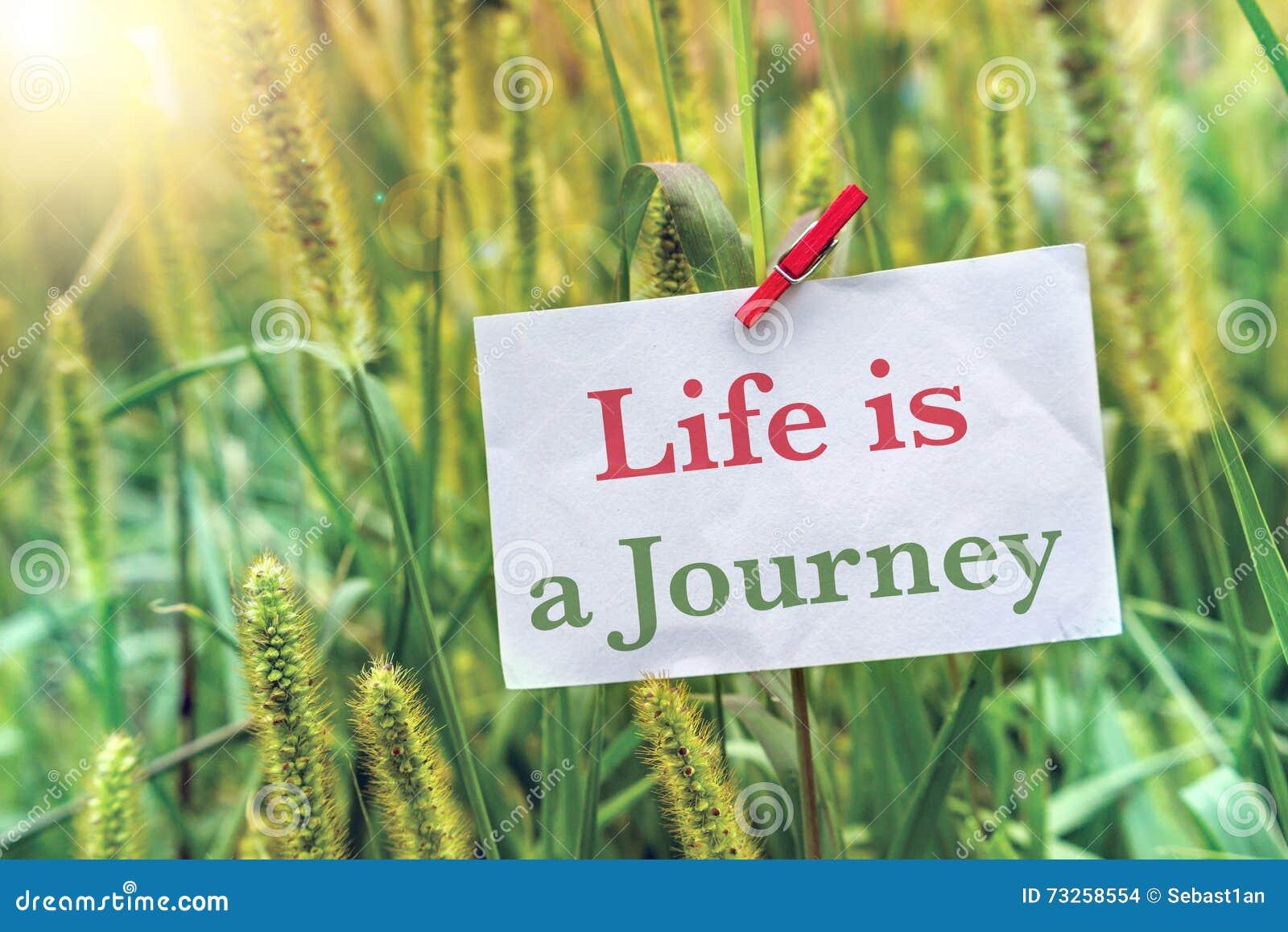 La vida es un viaje