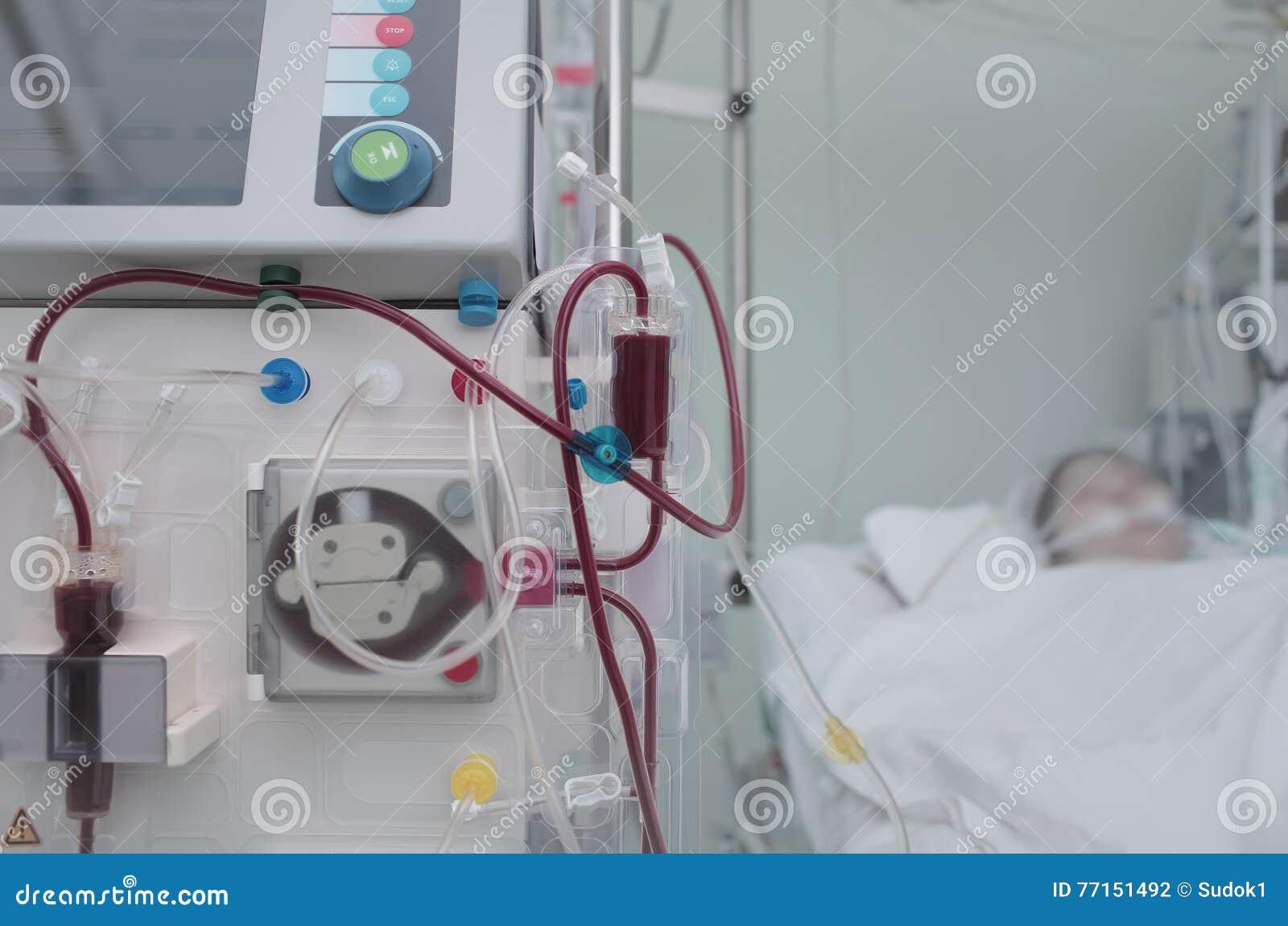 La vie d économie du patient avec l équipement de pointe dans un moderne