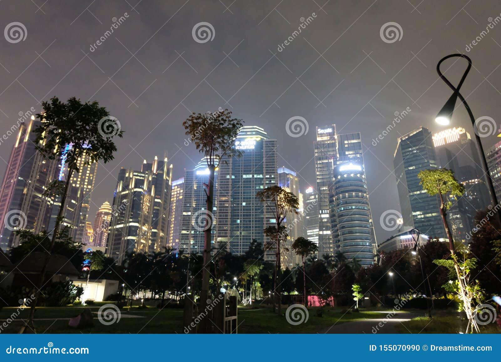 La vie de nuit de Jakarta stupéfiant ainsi