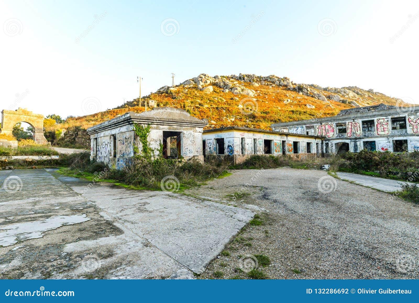 La vieille base militaire - Baiona