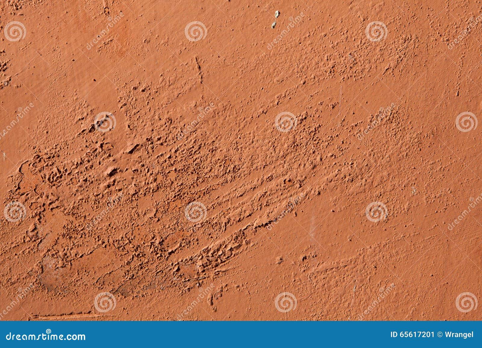 Peinture Couleur Terre Cuite la vieille terre cuite a peint le mur de stuc avec la