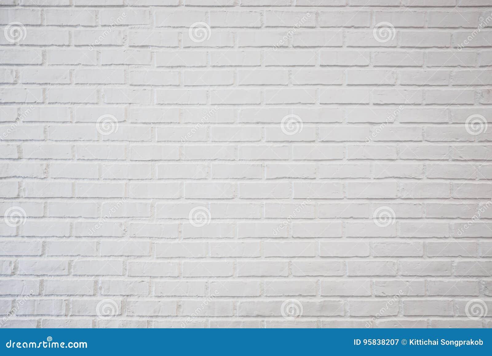 Brique Blanche la vieille texture blanche de mur de briques pour le fond, peignent