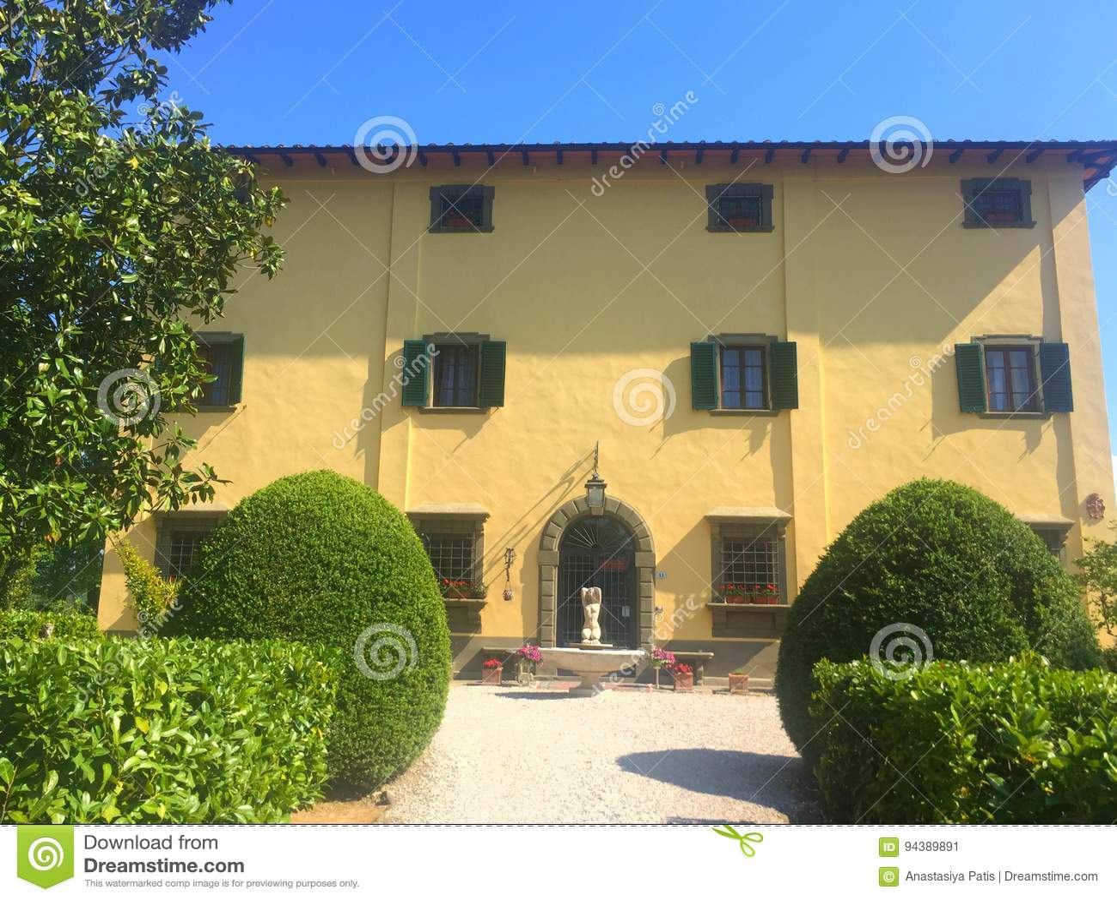 La villa de pays italienne la plus ancienne d ade de  de FaÑ