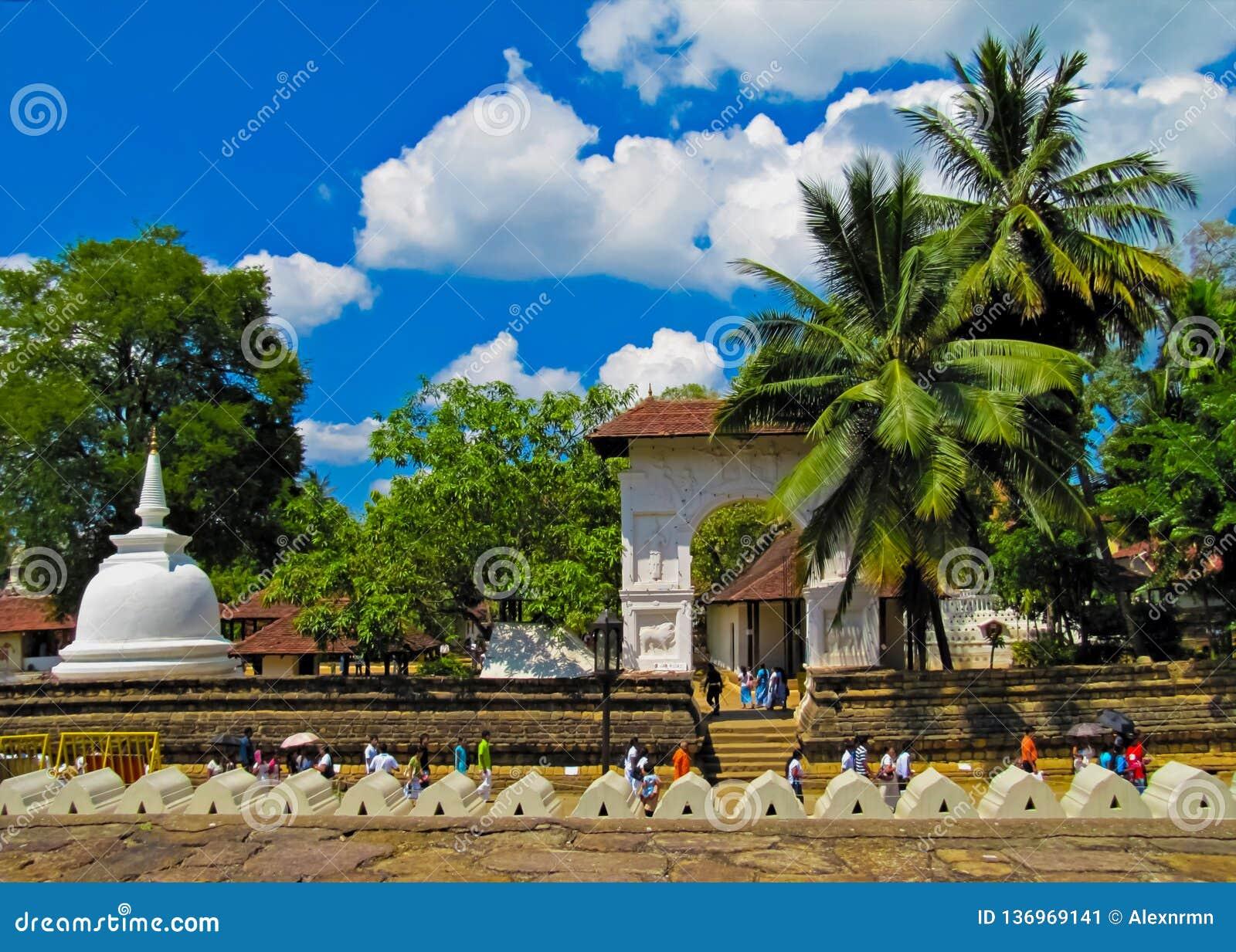 La ville antique de Kandy, Sri Lanka