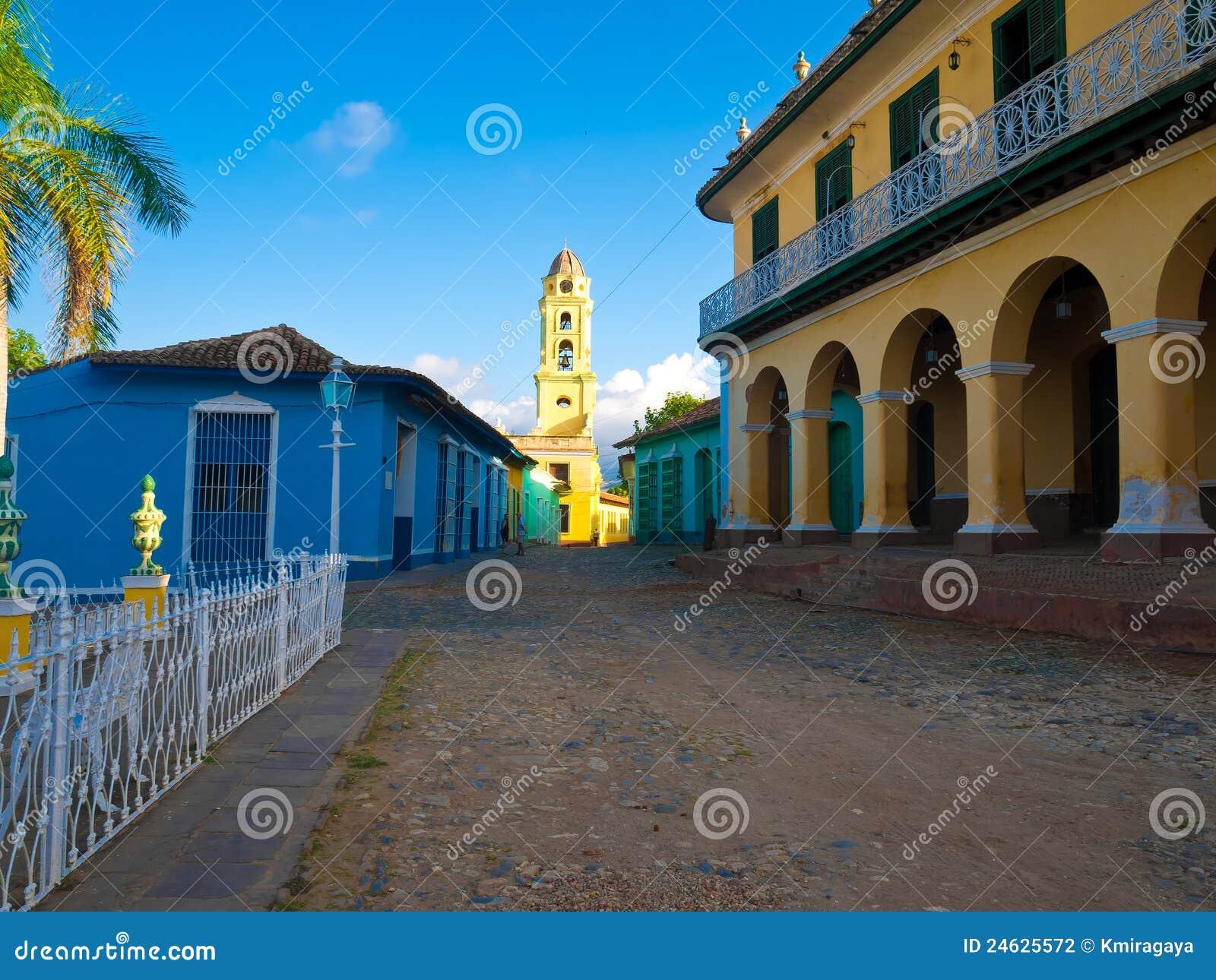 La ville coloniale du Trinidad au Cuba